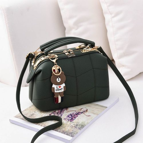JT99870 IDR.180.000 MATERIAL PU SIZE L24.5XH15XW13CM WEIGHT 700GR COLOR GREEN