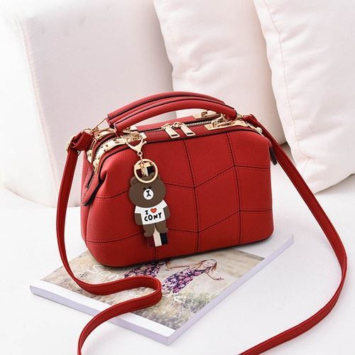 JT99870 IDR.180.000 MATERIAL PU SIZE L24.5XH15XW13CM WEIGHT 700GR COLOR RED