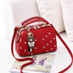 JT998726-red Doctor Bag Import Gantungan Teddy