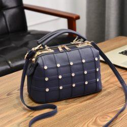 JT998727-blue Doctor Bag Fashion Import Wanita Cantik