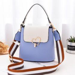 JT9999-blue Tas Handbag Wanita Cantik Kekinian Terbaru
