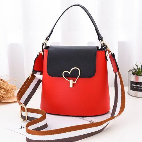 JT9999-red Tas Handbag Wanita Cantik Kekinian Terbaru