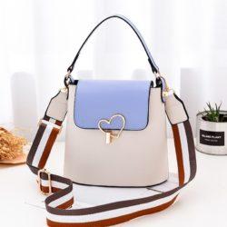 JT9999-white Tas Handbag Wanita Cantik Kekinian Terbaru