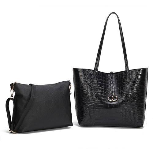 JTF0001 (2IN1) IDR.115.000 MATERIAL PU SIZE L31XH29XW9CM MEDIUM L28XH22XW8CM WEIGHT 650GR COLOR BLACK