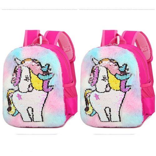 JTF0003-unicornpink Tas Ransel Sekolah Anak Motif Lucu Terbaru