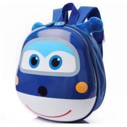 JTF0007-blue Tas Telur Ransel Anak Import Cantik