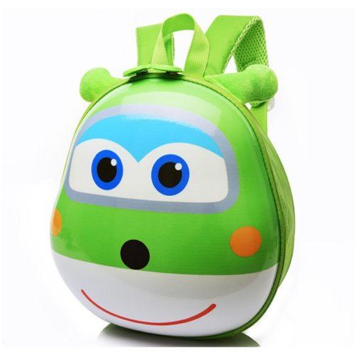 JTF0007-green Tas Telur Ransel Anak Import Cantik