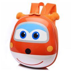 JTF0007-orange Tas Telur Ransel Anak Import Cantik