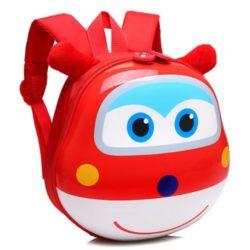JTF0007-red Tas Telur Ransel Anak Import Cantik