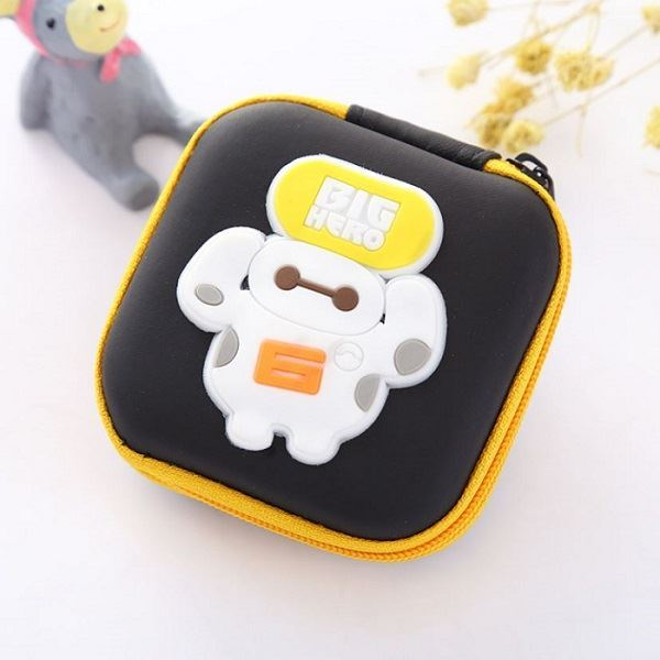 JTF0011 IDR.9.000 DOMPET EARPHONE, KOIN SIZE 7.2X3.2CM WEIGHT 25GR COLOR BIGHERO