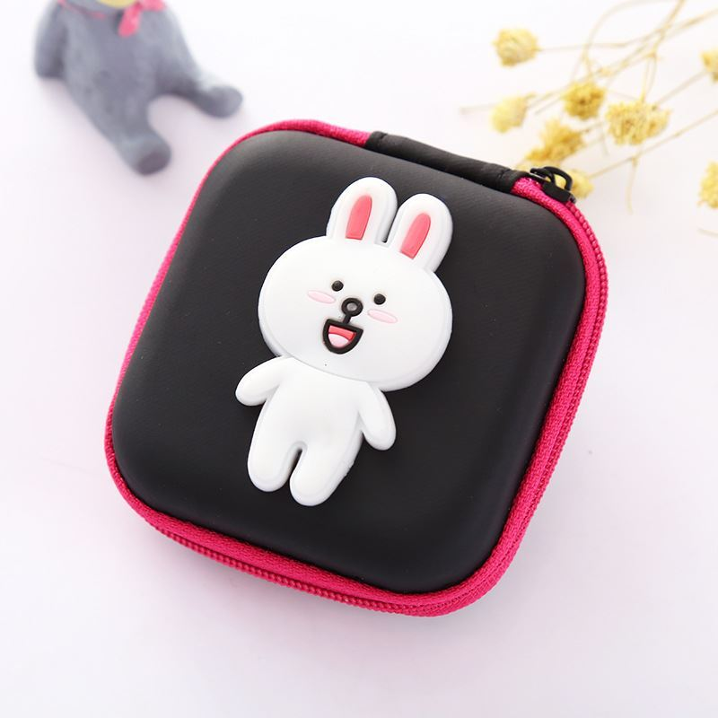 JTF0011 IDR.9.000 DOMPET EARPHONE, KOIN SIZE 7.2X3.2CM WEIGHT 25GR COLOR CONY