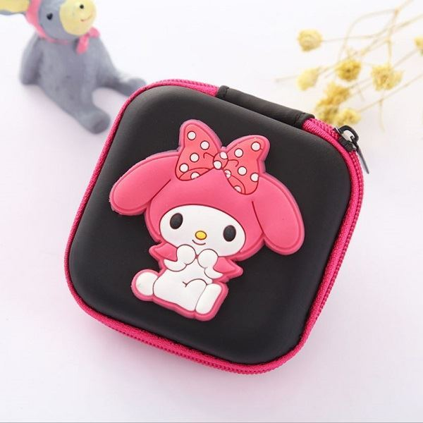 JTF0011 IDR.9.000 DOMPET EARPHONE, KOIN SIZE 7.2X3.2CM WEIGHT 25GR COLOR MELODY