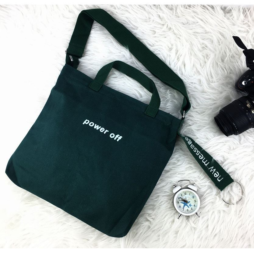 JTF0031 IDR.29.000 MATERIAL CANVAS SIZE L34XH30XW5CM WEIGHT 250GR COLOR GREEN