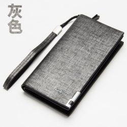 JTF004-gray Dompet Panjang Baellery Import