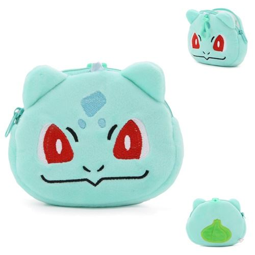 JTF0040 IDR.21.000 MATERIAL PLUSH SIZE L13XH11XW2CM WEIGHT 40GR COLOR BULBASAUR
