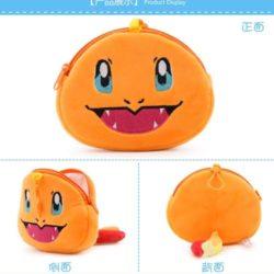 JTF0040-charmender Pouch Koin Motif Pokemon
