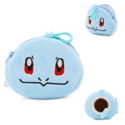 JTF0040-squirtle Pouch Koin Motif Pokemon