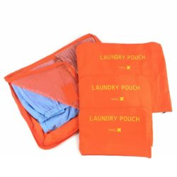 JTF006-orange Tas Set Laundry Pouch 6in1 Import