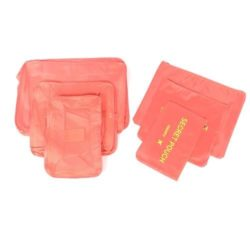JTF006-pink Tas Set Laundry Pouch 6in1 Import