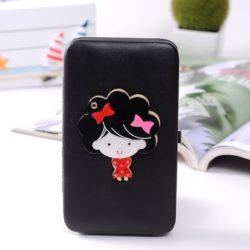 JTF007-black Dompet Wanita Cantik Import Terbaru