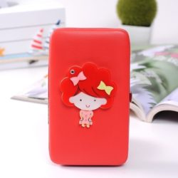 JTF007-red Dompet Wanita Cantik Import Terbaru