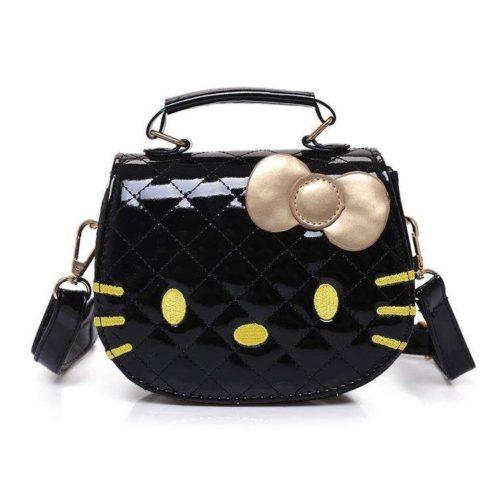 JTF012-black Tas Selempang Hello Kitty Cantik Import