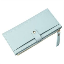 JTF0123-skyblue Dompet Fashion Import Wanita
