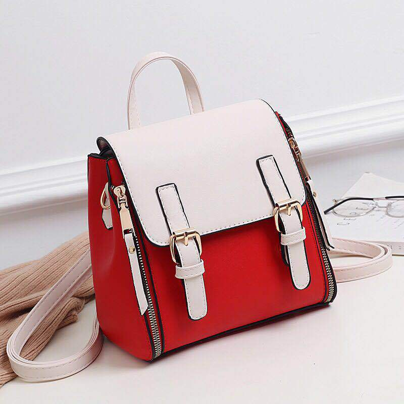 JTF0151 IDR.89.000 MATERIAL PU SIZE L21XH23XW12.5CM WEIGHT 800GR COLOR REDWHITE