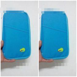 JTF0200-lightblue Dompet Card Holder Import Cantik
