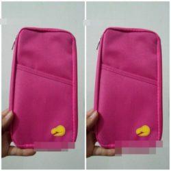 JTF0200-rose Dompet Card Holder Import Cantik