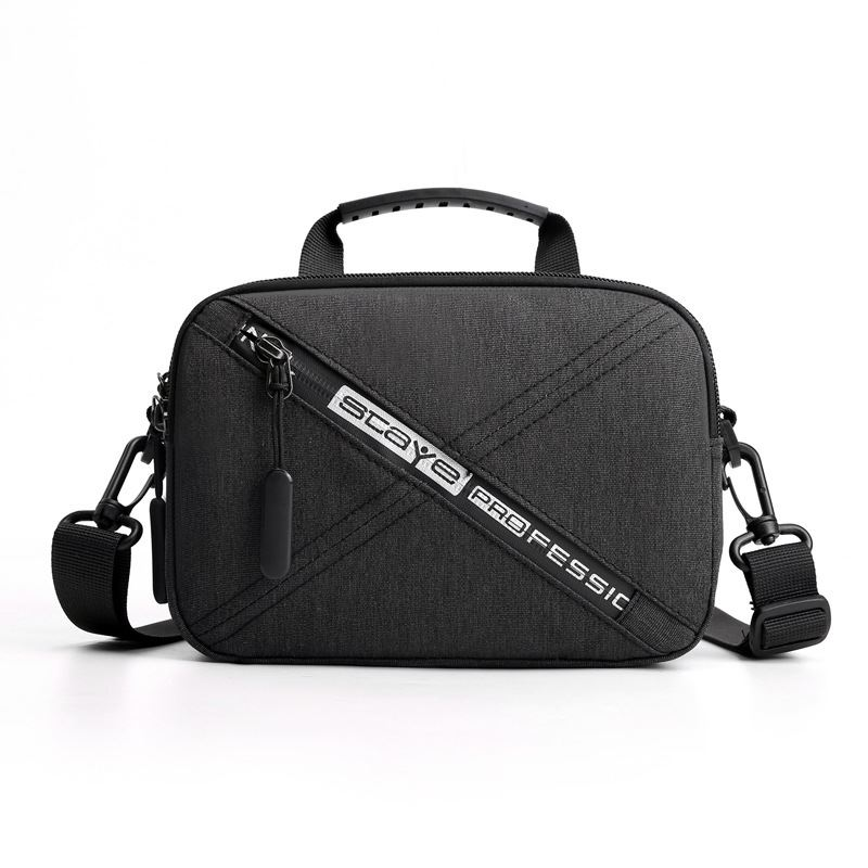 JTF022 IDR.46.000 MATERIAL NYLON SIZE L20XH14X8CM WEIGHT 250GR COLOR DARKGRAY