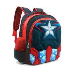 JTF031-captaina Tas Sekolah Anak Superhero Keren Import