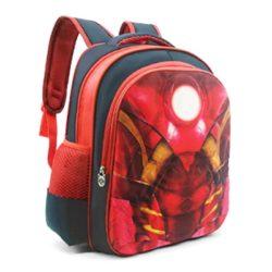 JTF031-ironman Tas Sekolah Anak Superhero Keren Import