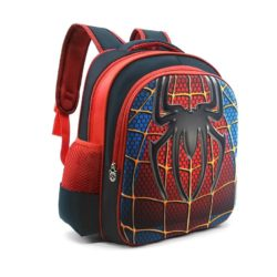 JTF031-spiderman Tas Sekolah Anak Superhero Keren Import