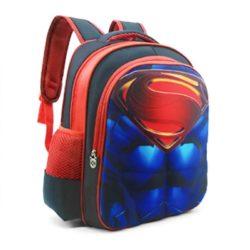 JTF031-superman Tas Sekolah Anak Superhero Keren Import