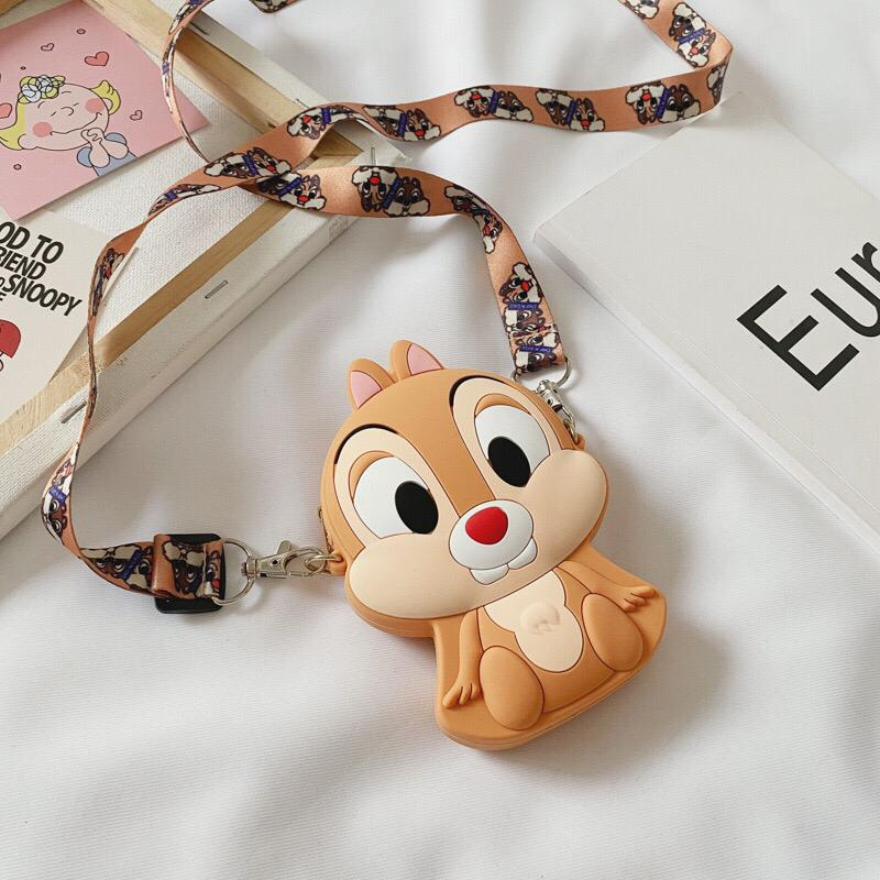 JTF04129 IDR.24.000 MATERIAL PVC SIZE L11XH8XW4CM WEIGHT 150GR COLOR CHIPMUNK