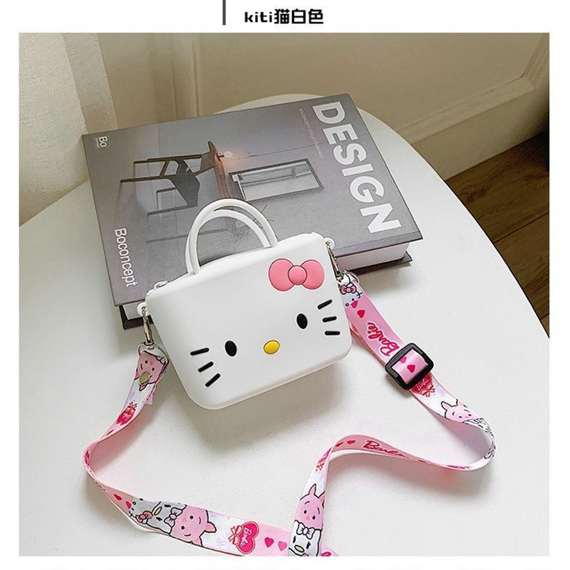 JTF04129 IDR.24.000 MATERIAL PVC SIZE L11XH8XW4CM WEIGHT 150GR COLOR KITTYWHITE
