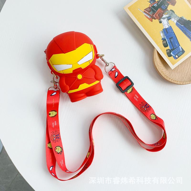 JTF04129 IDR.35.000 MATERIAL PVC SIZE L11XH8XW4CM WEIGHT 150GR COLOR IRONMAN