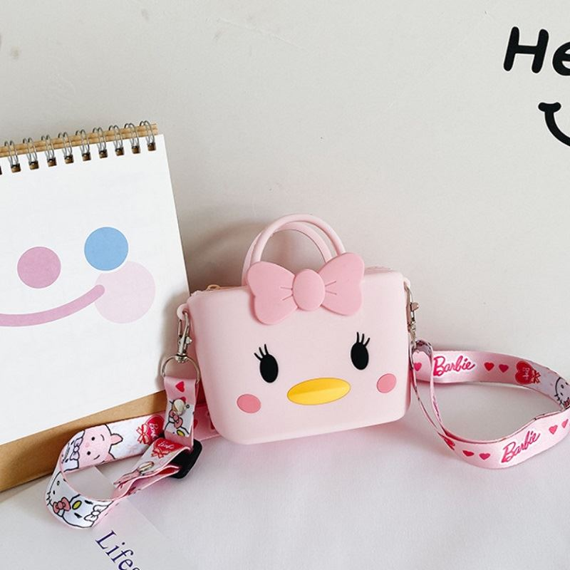 JTF04129 IDR.46.000 MATERIAL PVC SIZE L11XH8XW4CM WEIGHT 150GR COLOR DUCKPINK