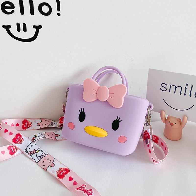 JTF04129 IDR.46.000 MATERIAL PVC SIZE L11XH8XW4CM WEIGHT 150GR COLOR DUCKPURPLE