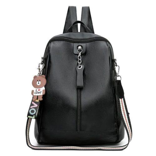 JTF0614-black Tas Ransel Cantik Wanita Elegan Terbaru Import
