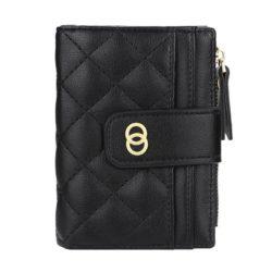 JTF063-black Dompet Lipat Wanita Cantik Import Terbaru