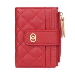 JTF063-red Dompet Lipat Wanita Cantik Import Terbaru