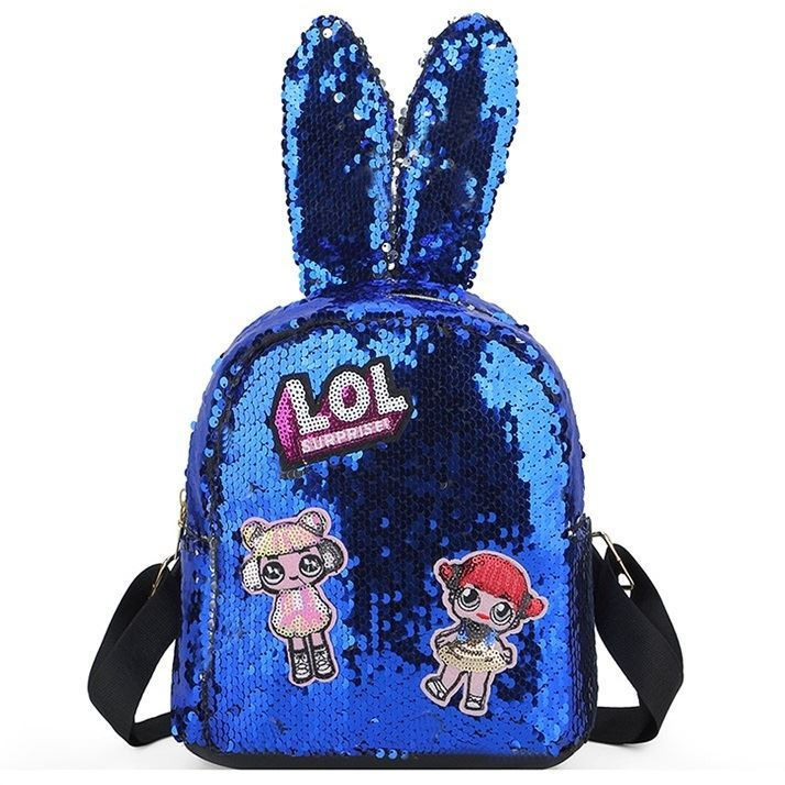 JTF0666 IDR.59.000 MATERIAL SEQUIN SIZE L20XH21.5XW10CM WEIGHT 250GR COLOR BLUE