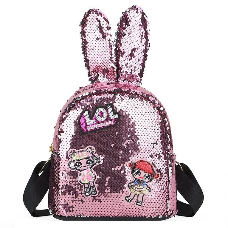 JTF0666 IDR.69.000 MATERIAL SEQUIN SIZE L20XH21.5XW10CM WEIGHT 250GR COLOR PINK