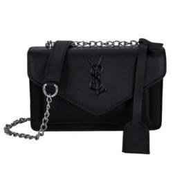 JTF0882-black Tas Selempang Fashion Modis Wanita Cantik Import