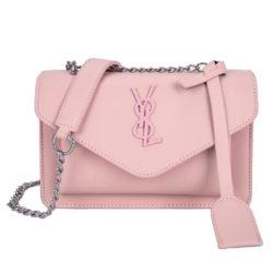 JTF0882-pink Tas Selempang Fashion Modis Wanita Cantik Import