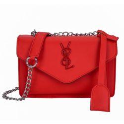 JTF0882-red Tas Selempang Fashion Modis Wanita Cantik Import