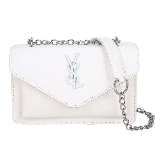 JTF0882-white Tas Selempang Fashion Modis Wanita Cantik Import