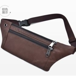 JTF0985-coffee Waist Bag Unisex Fashion Modis Terbaru